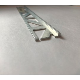 Aluminium Straight Edge Trims 2.5 Lm @ 2 mm Height