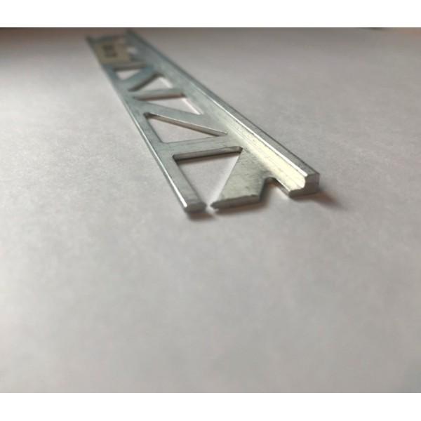 Aluminium Straight Edge Trims 2.5 Lm @ 2 mm Height