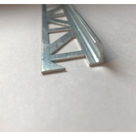 Aluminium Straight Edge Trims 2.5 Lm @ 4.5 mm Height