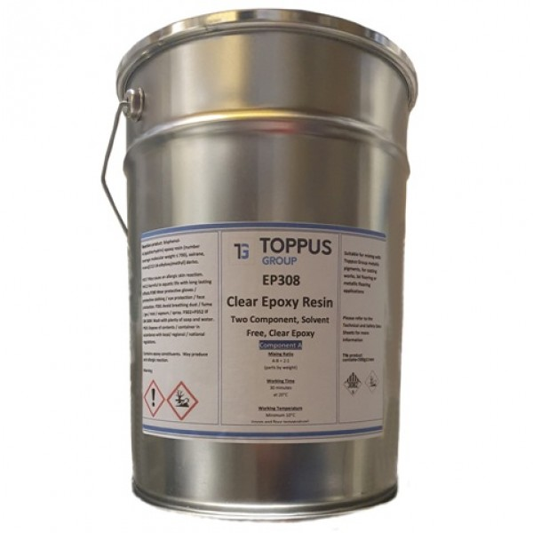 Clear Epoxy Resin 5 kg and 10 kg - EP308