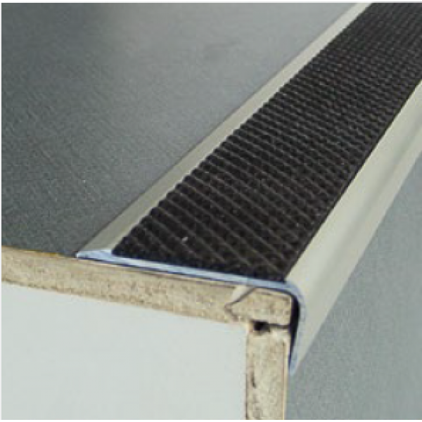 43 mm PVC Inserts for Stair Nosing Profiles 250 CM Various Colours