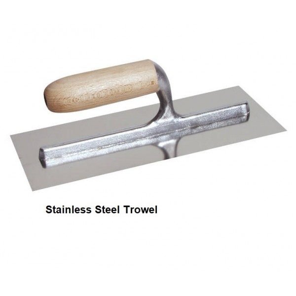 "16"" Finishing Stainless Steel Trowel"