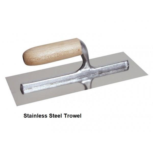 """11.2"""" Stainless Steel Trowel"""