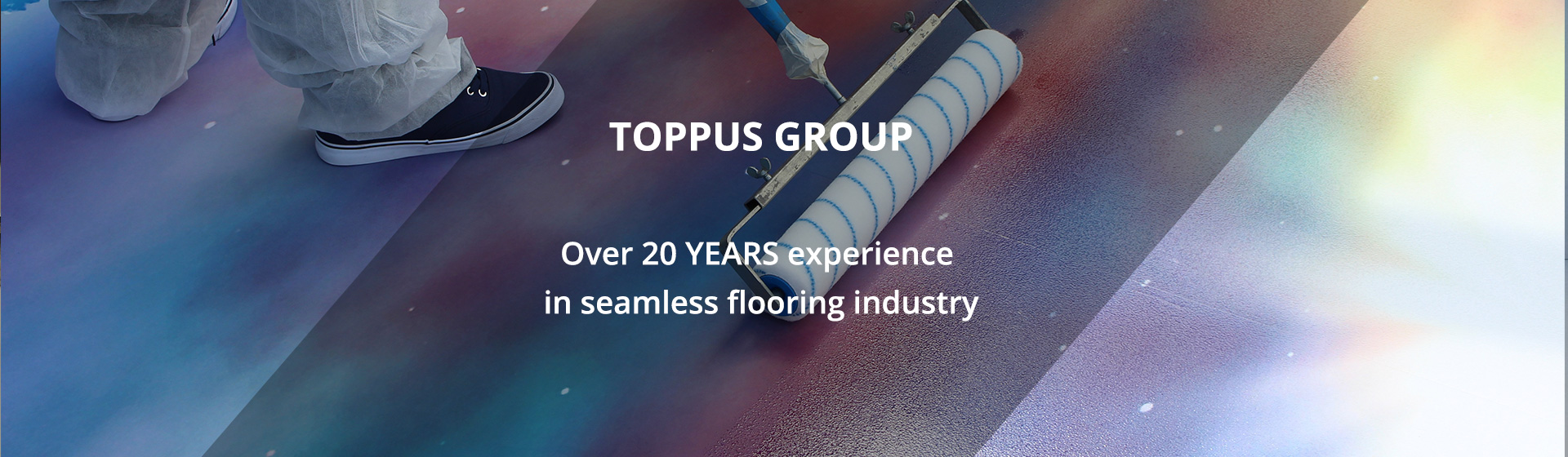Over 20 YEARS experience in seamless flooring industry