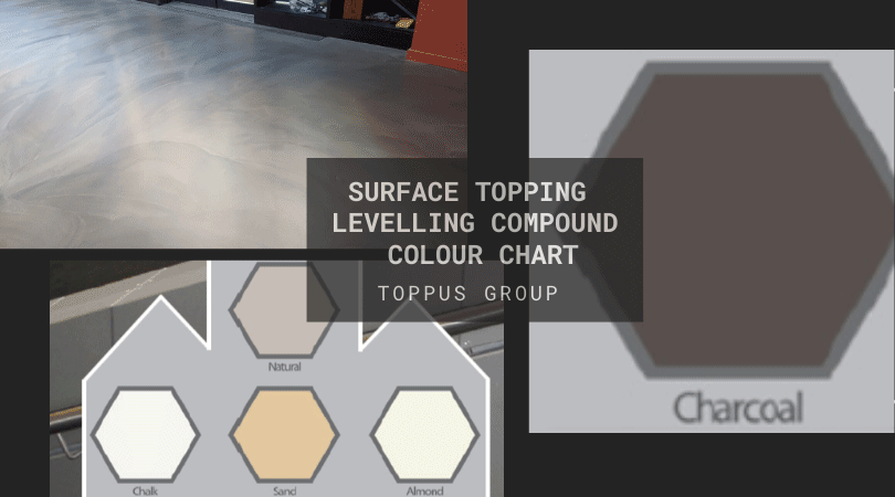 Topping Levelling Compound Colour Chart